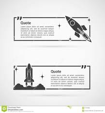 set of quotes templates stock vector image  set of quotes templates