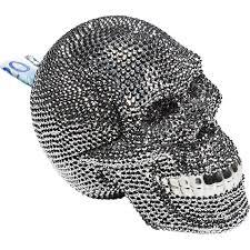 <b>Копилка Skull</b> Crystal Silver - купить <b>копилку</b> по выгодной цене в ...