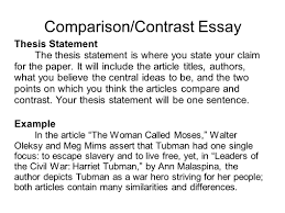 writing portfolio mr butner writing portfolio due date comparison contrast essay thesis statement the thesis statement is where you state your claim for