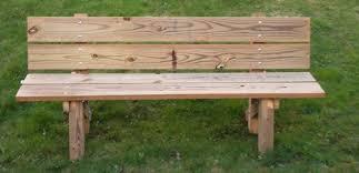 bench plans cedar bench plans