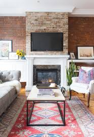 furniture living room wall:  hoboken living room coffee table