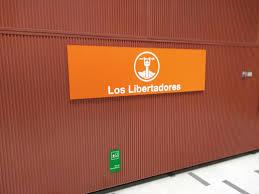 Los Libertadores metro station