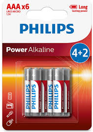 "<b>Батарейка</b> щелочная <b>Philips</b> ""Power"", тип AAА, 1,5 В, 6 шт ..."