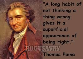Thomas Paine Common Sense Quotes. QuotesGram via Relatably.com