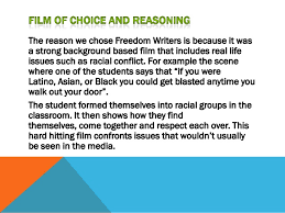 Assignment  Freedom Writers SlideShare