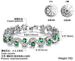 ASTERIA Jewelry <b>Fashion Titanium</b> Platinum Plated Swarovski ...