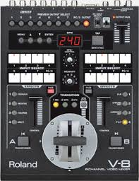 V-8 | Eight-Channel Video Mixer with Effects - Roland Pro A/V