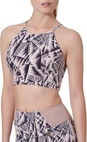 New Balance Women's <b>Printed Evolve Halter</b> Bra <b>Top</b> | Vestido curto
