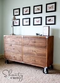 rolling rustic wood dresser build your own rustic furniture