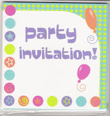 party invitations excel pdf formats