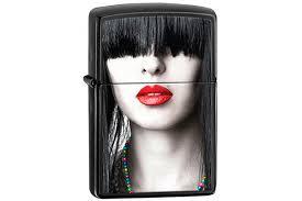 <b>Зажигалка Zippo</b> 28536 <b>Red Lips</b> купить! Цена в Москве, СПБ