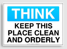 Image result for cleaning signs