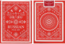 <b>Russian</b> Folk Art Deck - Natalia Silva - Vanishing Inc. <b>Magic shop</b>