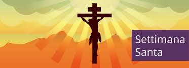 Risultati immagini per settimana santa