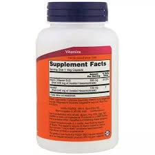 Now Foods B3 <b>Niacin Flush</b>-<b>Free</b>
