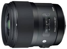 <b>Объектив Sigma AF</b> 35mm f/1.4 DG HSM Art <b>Nikon</b> F — купить по ...