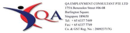 clinic assistant patient service associate qa employment consultant pte ltd recruitment firm patient service associate