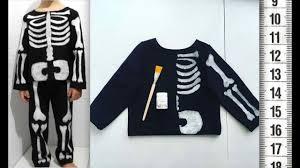Я ШЬЮ: <b>Костюм</b> скелета из футера How to make Halloween ...