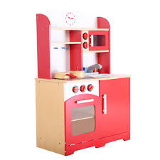 wood kitchen toy kids cooking
