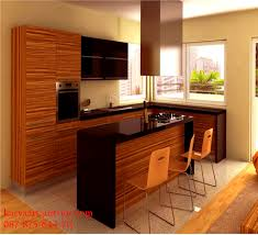 kitchen set minimalis modern design