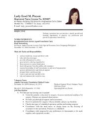 example of resume letter template example of resume letter