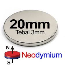 1x pcs 20x3mm N35 Round Disk Strong Rare Earth NdFeB <b>Magnet</b> ...