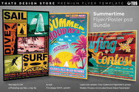 flyers psd summertime flyer templates tds psd flyer templates summertime flyers bundle 3 psd