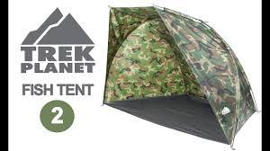 Тент палатка для <b>рыбалки</b> Trek Planet Fish Tent 2 - YouTube