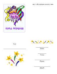 3 good birthday party invitations templates eysachsephoto com creative printable party invitations templates at efficient birthday