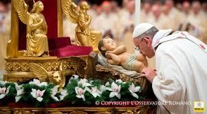 Resultado de imagen de Papa Francisco Navidad 2016