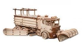 """Модель-конструктор <b>3D</b> Eco Wood Art """"Снегоуборочная машина ..."""