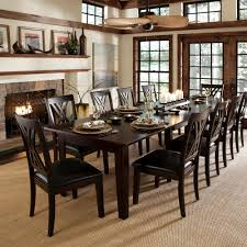 11 Piece Dining Room Set A America Furniture Montreal 11 Piece 60x38 Extension Dining Room