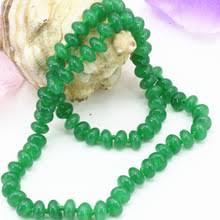 5*8 мм натуральный <b>зеленый</b> Малайзийский камень Абакус ...