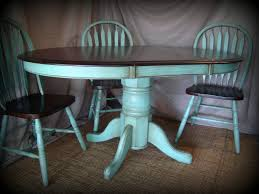 designs sedona table top base: kitchen table refinishing ideas pictures stained the table top and chairs with dark walnut