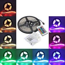 5M <b>5050 RGB</b> Waterproof 300 <b>LED</b> Strip Light <b>DC12V</b>+24 Key IR ...
