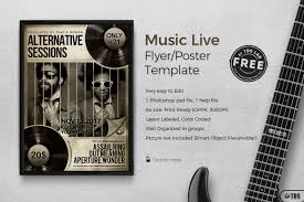 psd flyer templates customizable design bies music live band flyer