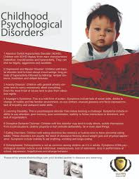 home elearn college childhood psychological disorders