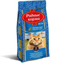 Сухие корма для кошек <b>Родные корма</b>