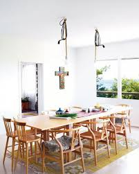 Light Oak Dining Room Furniture Design Ideas Comely Dining Room Decorating Design Using