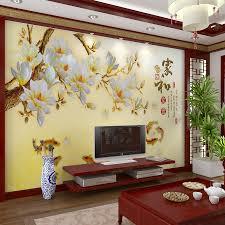 Wallpaper Decoration For Living Room Magnificent Wallpaper Designs For Living Room With Art Decorative