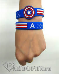 <b>Браслет</b> Капитан Америка: <b>Марвел</b> купить в интернет-магазине ...