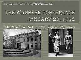 「1942 Wannsee Conference)」の画像検索結果