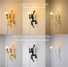 <b>Modern</b> Resin Led Pendant <b>Lamps</b> Nordic <b>Monkey Lamps</b> Living ...