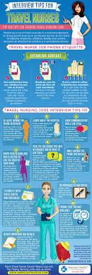 infographics phone interview tips for travel nurses clicking here
