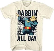 Флэш Гордон даббин весь день взрослых <b>Футболка</b> ...