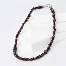 Купить <b>бусы</b> из натуральных камней <b>красного</b> цвета в интернет ...