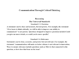 DECONSTRUCTION AND CRITICAL THINKING By Charlotte Vardy and Dana            What is Critical Thinking