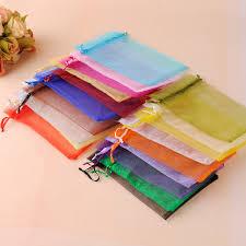 White Organza Jewelry Packaging <b>Gift Bags</b> Cheap Pouches <b>Bags</b> ...