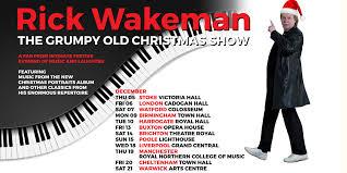 <b>Rick Wakeman – The</b> Grumpy Old Christmas Show Tour 2019 ...