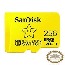 SanDisk 256GB MicroSDXC UHS-I Memory Card <b>for Nintendo</b>